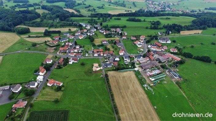 Luftaufnahme Eichenried
