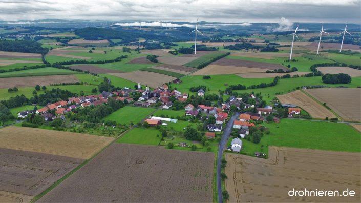 Luftaufnahme Fleschenbach