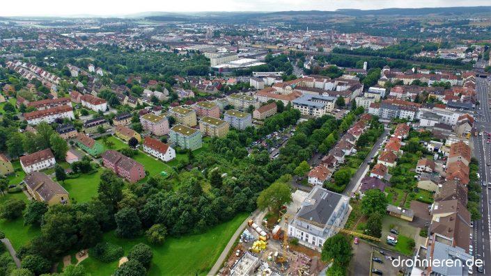 Luftaufnahme Stadt