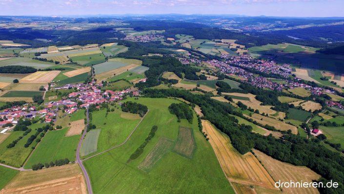 Luftaufnahme Huttengrund