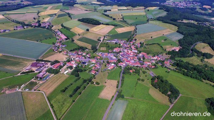 Luftaufnahme Kath.Willenroth