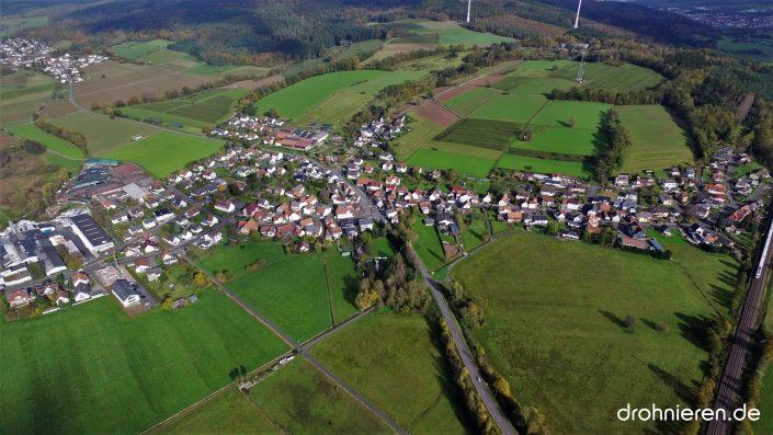 Luftaufnahme Neudorf