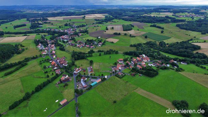 Luftaufnahme Radmühl