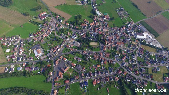 Luftaufnahme Romsthal