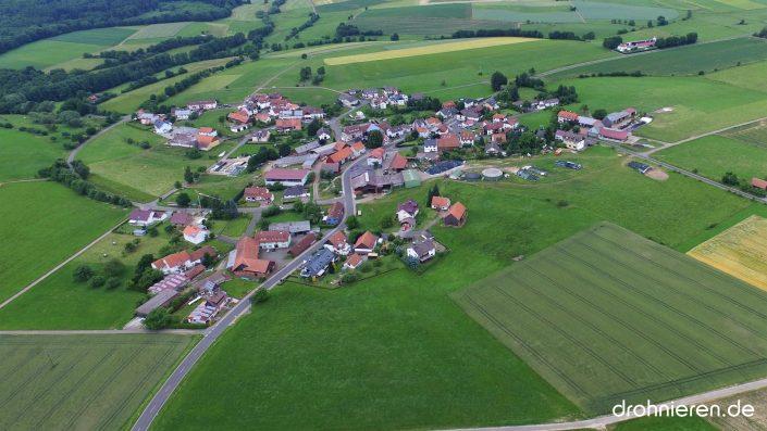 Luftaufnahme Sarrod