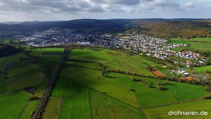 Luftaufnahme Wächtersbach
