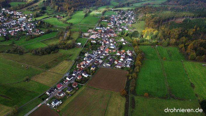 Luftaufnahme Weilers